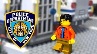 Мультфильтик  Полиция Лего Сити 🔵 ПОЛИЦЕЙСКИЙ  на Службе в полицейском участке LEGO CITY