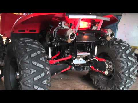 how to change the exhaust on a polaris sportsman 800