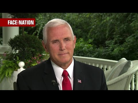 "Pence ""never"" part of 25th amendment conversation"
