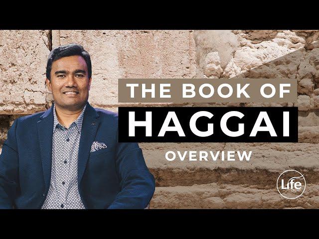 Haggai Part 1 - Overview - Rev Paul Jeyachandran