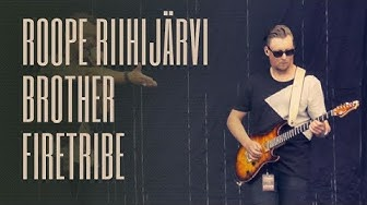 Brother Firetribe Alive 'n Breathin Tour 2019 with Roope Riihijärvi on guitar
