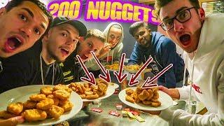 200 CHICKEN MCNUGGETS CHALLENGE!