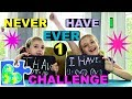 NEVER HAVE I EVER CHALLENGE PART 1! SO FUNNY!