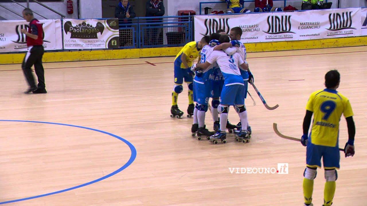 Sinus Materassi.Hockey Sinus Matera Thiene 5 0 I Goal Youtube