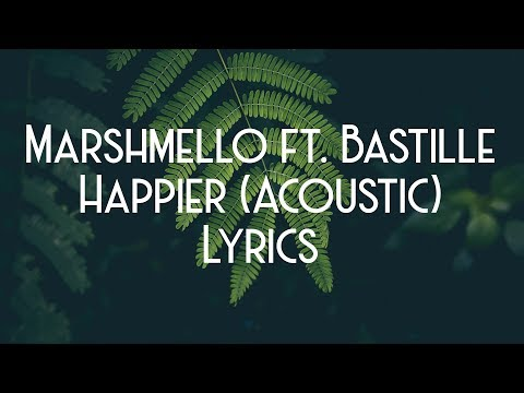 Marshmello ft Bastille - Happier StrippedAcoustic JBX