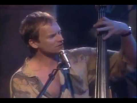 Sting Every Breath You Take Lithium Sunset Glastonbury Festival 1997