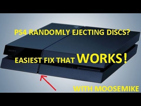 PS4 RANDOMLY EJECTING DISCS? HERE'S THE SOLUTION!