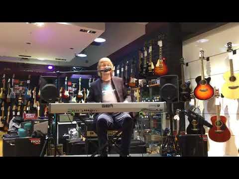 Don Airey of Deep Purple at Music Kavern
