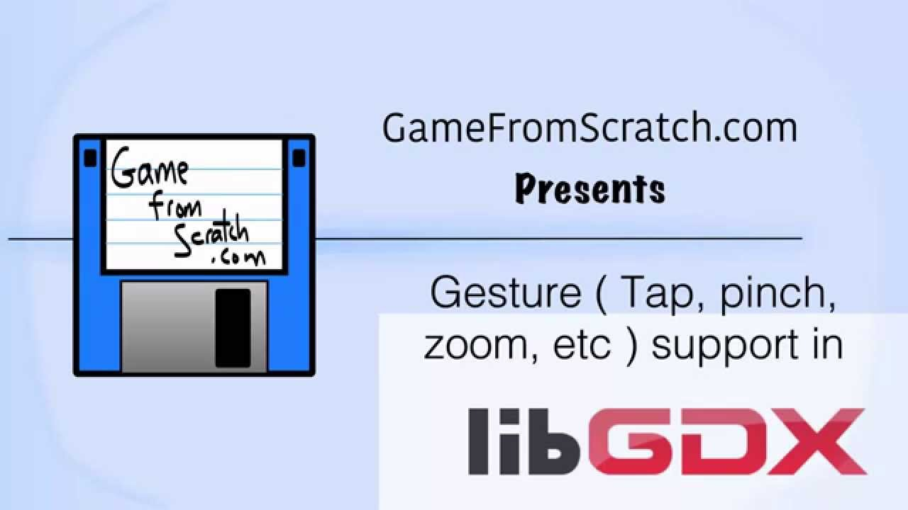 LibGDX Video Tutorial: Gestures–Panning, Zooming, Pinch