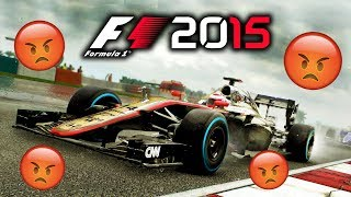 PLAYING F1 2015 CAREER MODE .......OH WAIT
