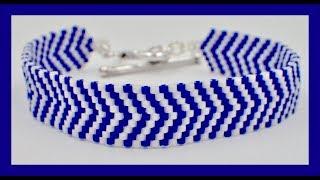 Odd Count Peyote Bracelet