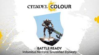 How to Paint: Battle Ready Indomitus Necrons – Szarekhan Dynasty
