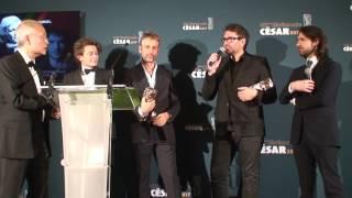 Cesar 2017 - Meilleur son - Marc Engels, Fred Demolder, Sylvain Réty, Jean-Paul Hurier pour L'odysée