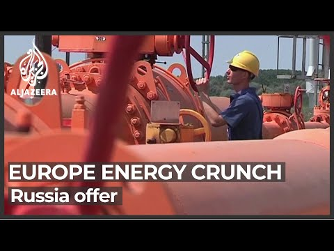 Russia says it may sell a record amount of gas to the EU