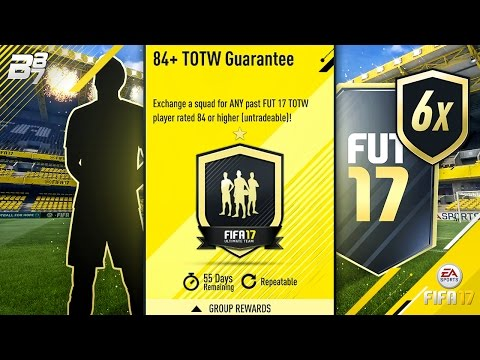 84+ GUARANTEE INFORM PACKS FROM ANY TOTW! | FIFA 17 ULTIMATE TEAM