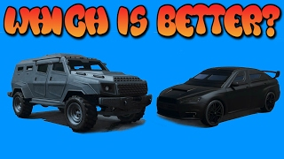 GTA Online Guides - Kuruma vs Insurgent