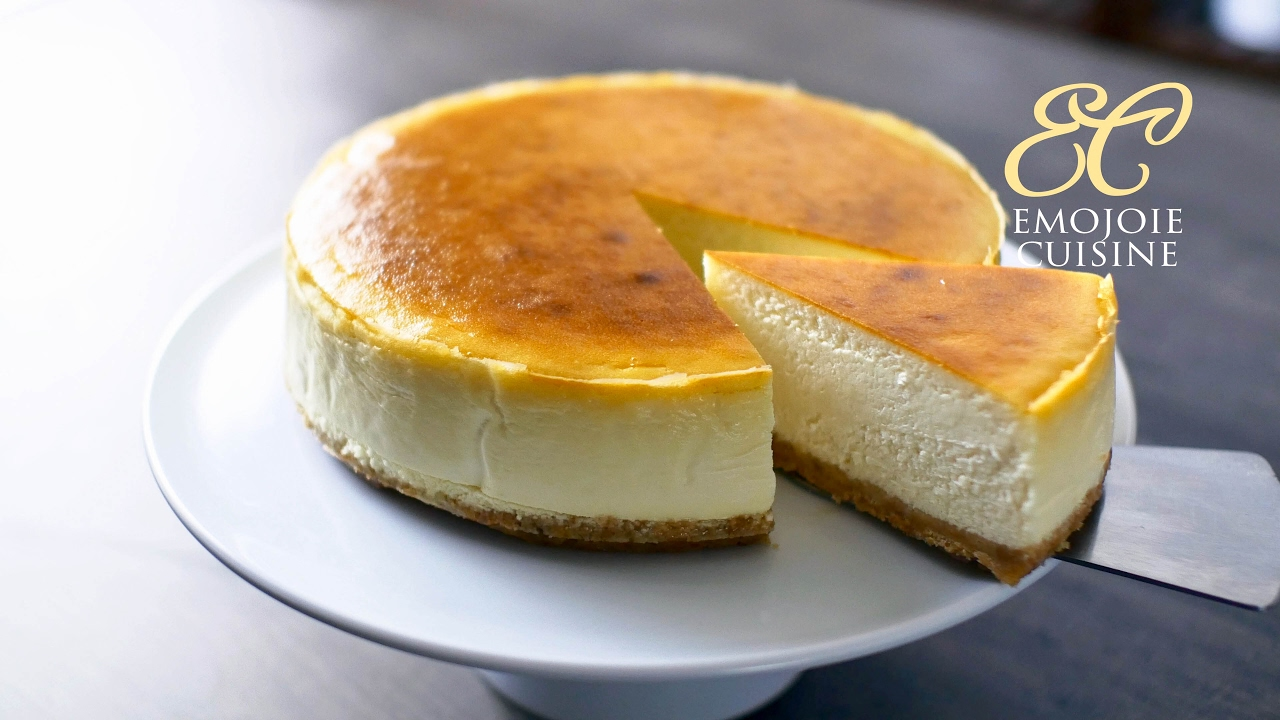 The Best New York Cheesecake Recipe | Emojoie Cuisine