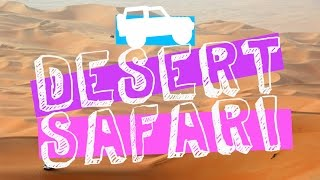What to do in ABU DHABI: TOP GEAR 4X4 Safari Tourist Attractions!