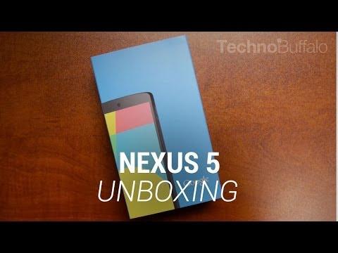 Nexus 5 Unboxing