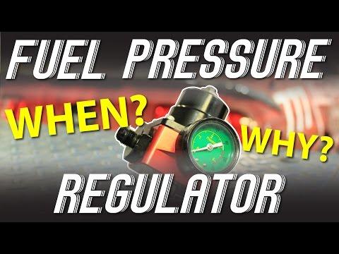 External fuel pressure regulator for boosted cars