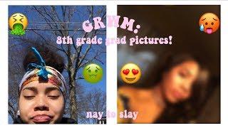 GRWM: 8th GRADE GRADUATION PICTURES!!!