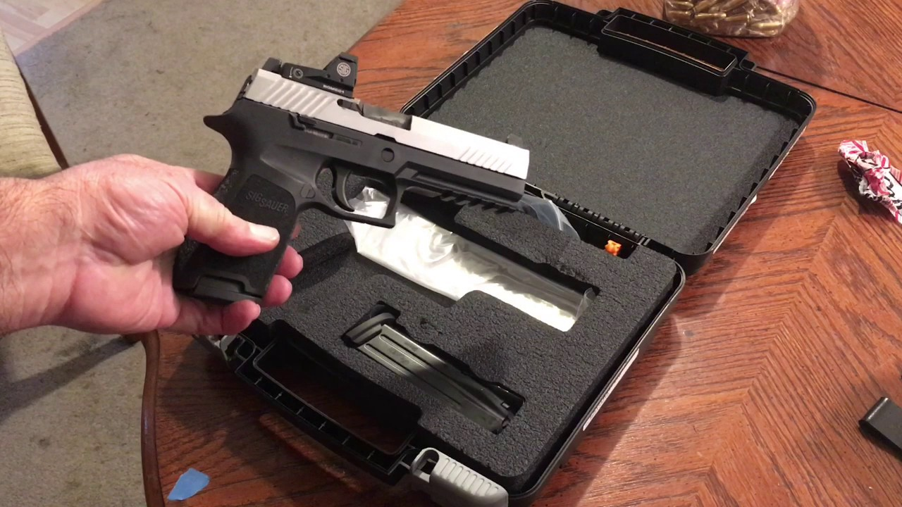 Sig P320 RX Initial Review