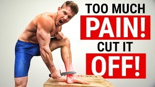 FIX FOOT / ANKLE PAIN!   Plantar Fasciitis & Achilles Tendon Injuries!