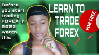Learn How To Trade Forex FOR FREE (without IML) SITES APPS | Forex For Beginners