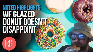 WF Glazed Donut wins the Donut War