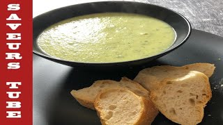 How to make Courgette Soup with The French Baker TV Chef Julien Picamil from Saveurs Dartmouth U.K.