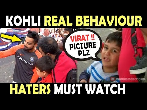 Kohli REAL BEHAVIOUR with Fans | England...