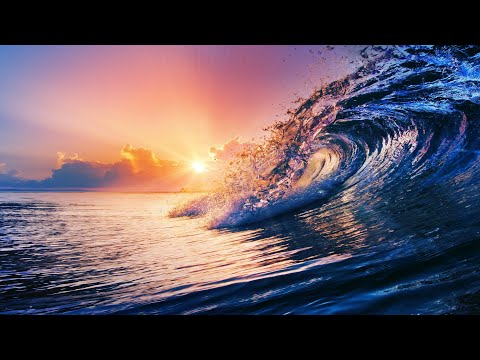 🌊 Gentle Ocean Waves 8 Hours \