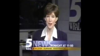 WRAL-TV id promo montage 1999