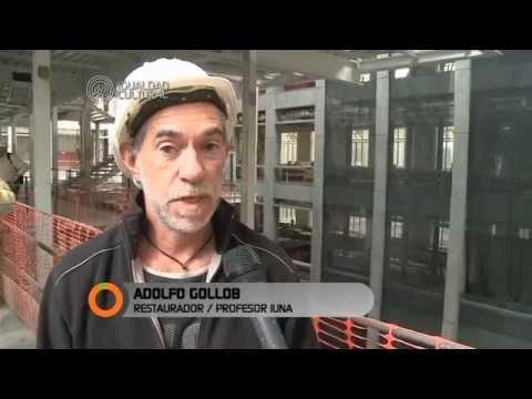 Artistas y restauradores visitan el Centro Cultural Néstor Kirchner