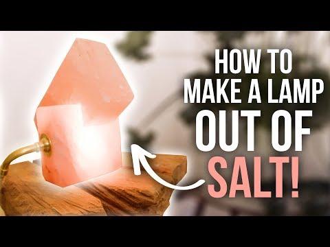 How to Make a Pink Himalayan Salt Lamp - HGTV Handmade