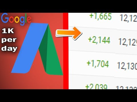 How to get 1000 views Per Day using Google Adwords