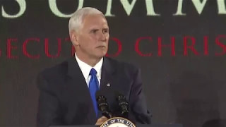 Vice President Mike Pence: The Christian Faith is Under Siege