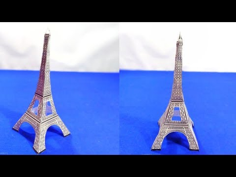 How to make Paper Eiffel Tower  | Using Printable Paper