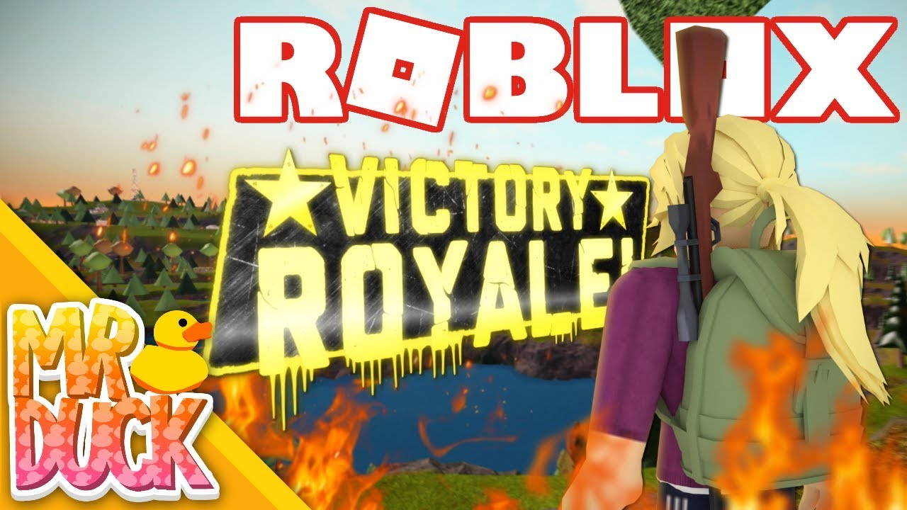 WE GOT THE VICTORY ROYALE! - Roblox ALONE: Battle Royale ...