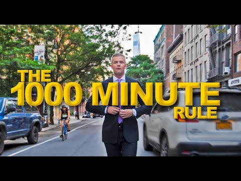 Hacking Time Management (The 1,000 Minute Rule) | Ryan Serhant Vlog #78