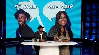 Guest Host tWitch and Loni Love Go Through Hot Topics in 'He Said, She Said'