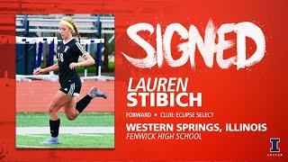Illini Soccer Signed | Lauren Stibich