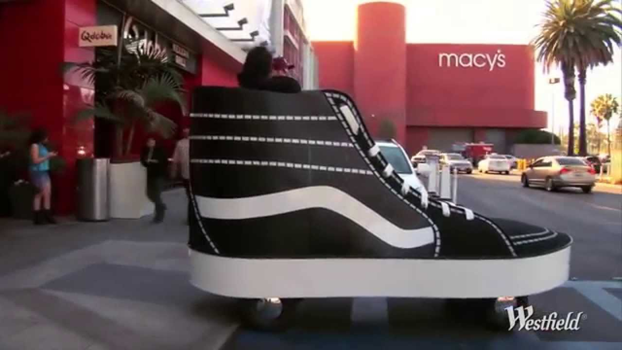 Giant Vans Shoes Mobile at Westfield