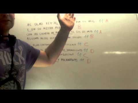 Analisis Metrico De Un Poema Lengua 1º Eso Academia Usero Estepona