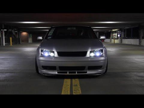 Slammed Mk4 Jetta - YouTube