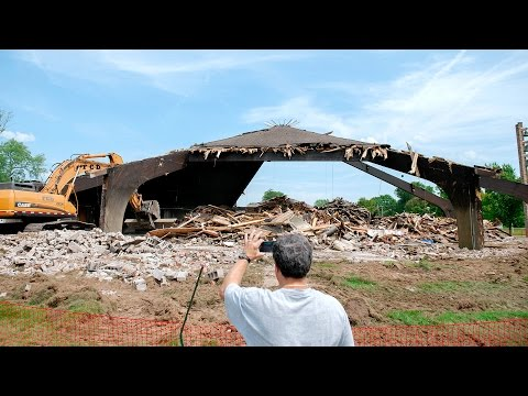 St. Pius Tenth Church demolished