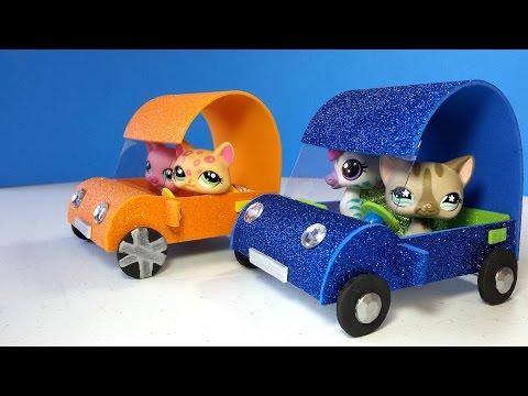 DIY LPS Doll Car