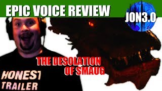 Epic Voice Review Desolation of Smaug Bluray