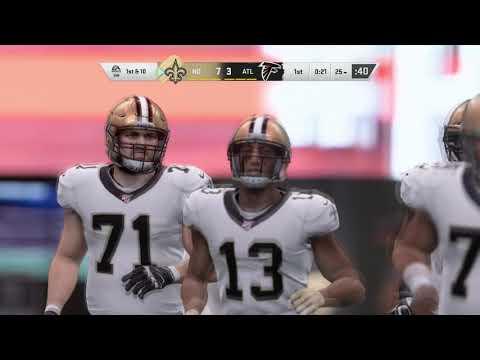 MADDEN 20 EA ACCESS: FALCONS VS SAINTS FULL GAME