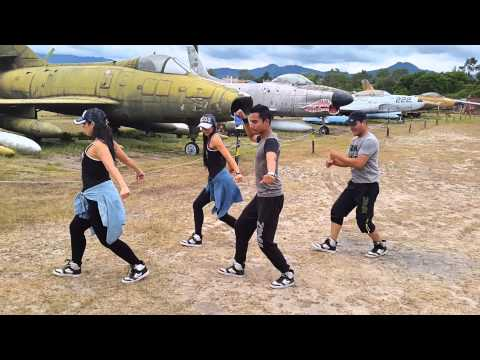 Skrillex Ragga Bomb with Ragga Twins ZUMBA BY HONDURAS DANCE CREW